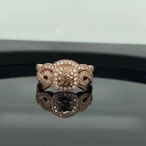 Le Vian 14K Rose Gold Diamond Ring set